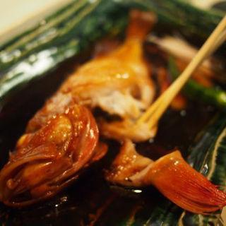 キンキの煮付け(鮨 でですけ )