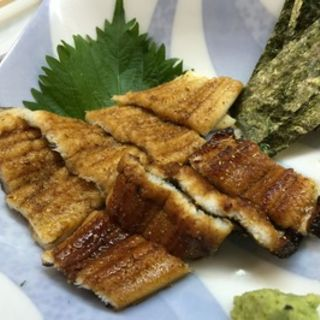 穴子の白焼きとタレ焼き(鮨 清水 )