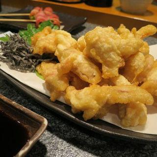 淡路元気鶏もも肉の天ぷら(鳥Dining べっ鳥ない )