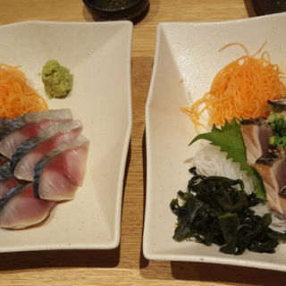 カツオたたき(鳥まつ 浜松町本店 (とりまつ))