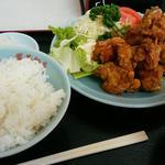 唐揚げ定食(鳳華飯店 )