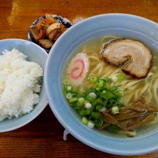 牡蠣中華そば(鴫野食堂 (シギノショクドウ))
