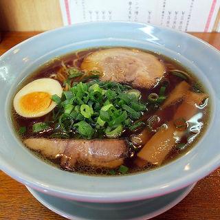 鴫野醤油そば(鴫野食堂 (シギノショクドウ))