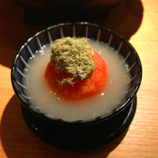 トマト(鶏だしおでん さもん )