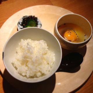 名古屋コーチン卵かけごはん(鶏だしおでん さもん )