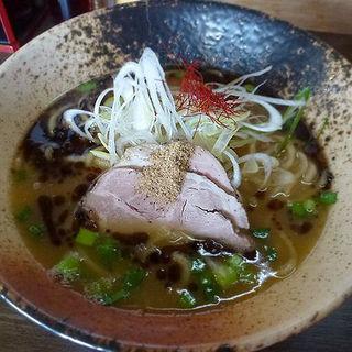 鶏白湯(醤油)(鶏ポタ)