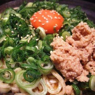汁なし坦々麺(鶏魚kitchenのぶ )