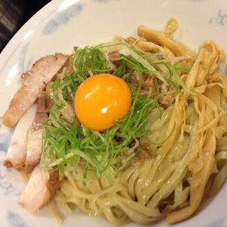 豚あえぞば(鶴麺 鶴見本店 (つるめん))