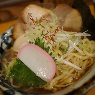特選中華そば(醤油)大盛(麺 the Tokyo )