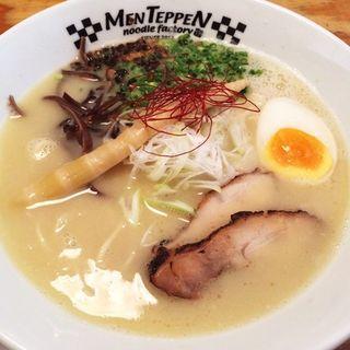 鶏白湯の塩(麺 てっぺん (MEN TEPPEN))