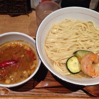 海老つけ麺熱盛りバージョン(麺と心 7 )