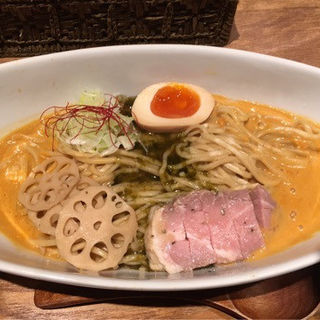 濃厚雲丹のスープまぜそば(麺と心 7 )
