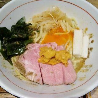 雲丹白湯まぜそば(麺と心 7 )