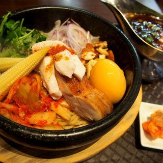石焼カレー坦々和え麺(麺のようじ (【旧店名】大阪拳))