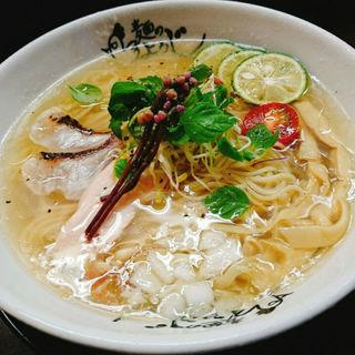 鯛冷やしらーめん(麺のようじ (【旧店名】大阪拳))