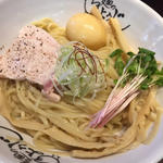 鶏ドロつけ麺+煮玉子