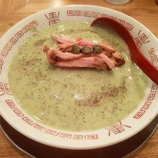だだちゃ豆の冷やし麺(麺や七彩)