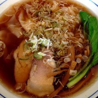 醤油ワンタン麺(麺や 北町 )