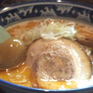 海老味噌らーめん(麺や 樽座 子安町店 (たるざ))