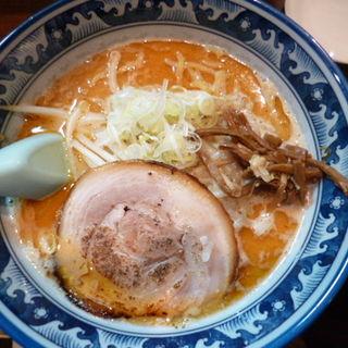 えび味噌らーめん(麺や 樽座 子安町店)