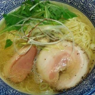 塩鶏湯そば(麺や而今 (じこん))