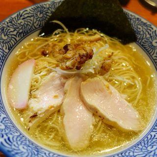 鶏とろみそば(麺や而今 (じこん))