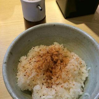 かつおご飯(麺や高倉二条 (めんや たかくらにじょう))