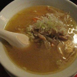 札幌味噌らーめんのハーフ(麺八 )