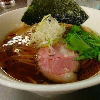 NEOクラシック醤油ラーメン(麺処 ほん田 東京駅一番街店)