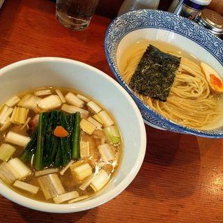 濃厚昆布水の淡麗つけ麺(塩) ※夏季限定 (麺処 ほん田)
