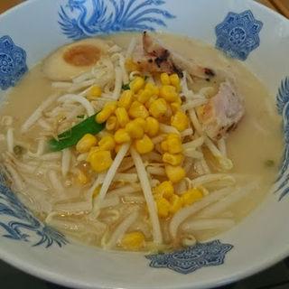 鶏ポタラーメン(麺処 山百合 )