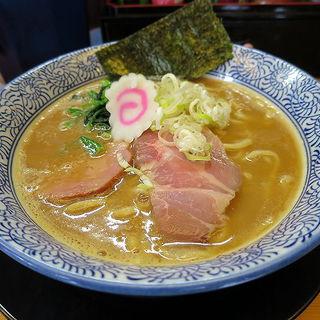 濃厚魚介白湯そば(醤油)(麺匠而今 (ジコン))