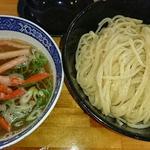 紅ズワイガニの塩つけ麺