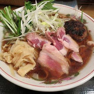 鴨だし鴨のせ豊満そば(麺喰い メン太ジスタ )