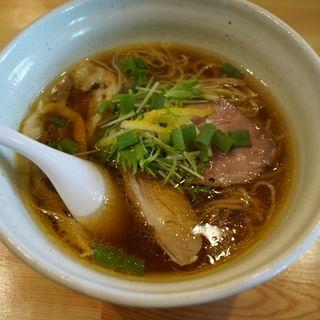 醤油ラーメン(麺堂 HOME)