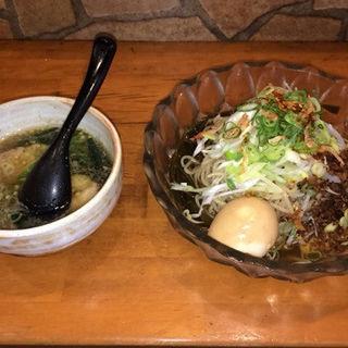 海老ニボ和えつけ麺(麺場 Voyage (ボヤージュ))
