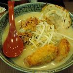 広島味噌らーめん+味噌漬け炙りチャーシュー1枚