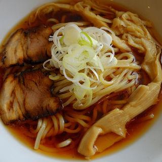 冷やし和風ラーメン(太麺200g)(麺家 西陣 )