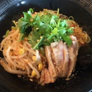 タイ式汁なし和えそば(バミーヘン)(麺屋 きら (キラ))