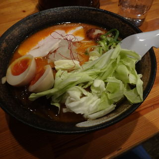 濃厚辛味噌鶏そば 味玉付き(麺屋 こいけ )