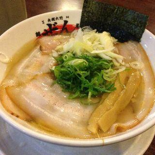 鶏ガラの塩ラーメン(麺屋 ぜん )