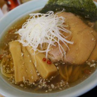 醤油ラーメン(麺屋 つるる )