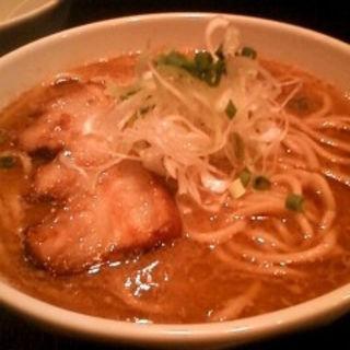ら~麺(黒)(麺屋とがし 本店)