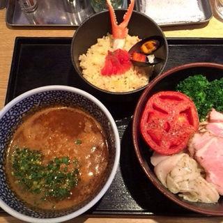 蟹トマトつけ麺(麺屋 一燈 (いっとう))