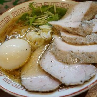 中華そば(醤油)+たまちゃ(麺屋 京介 (キョウスケ))