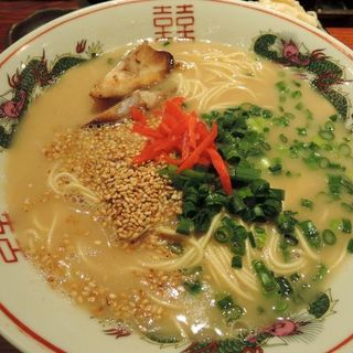 ランチセットB(本場博多長浜ラーメン+大分からあげ3個+ご飯)(麺屋 侍 八王子店 )
