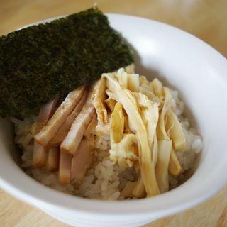 チャーシュー丼(麺屋 信 (めんや しん))