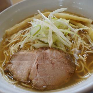 酢しょうがの煮干中華そば(麺屋 信 (めんや しん))