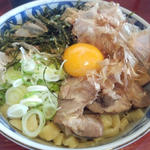 釜玉中華麺(限定1:大盛り)