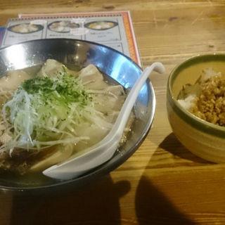 塩ラーメン(麺屋 居間人 (めんや いまじん))